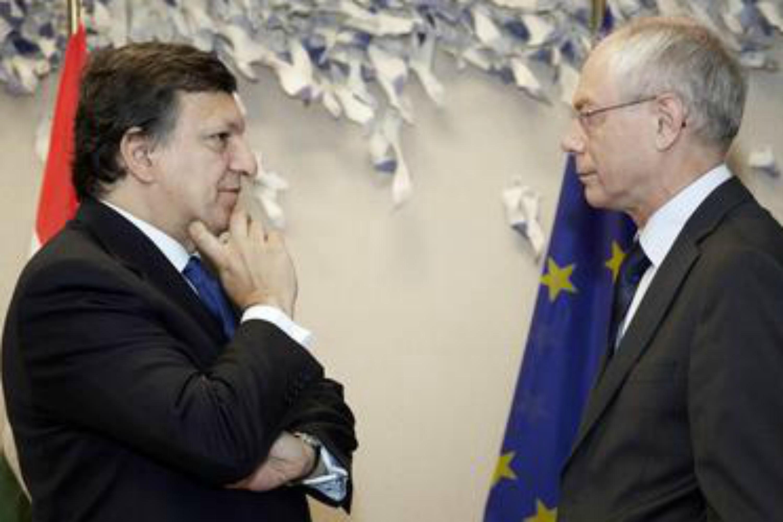 Barroso and Van Rompuy [Shutterstock]