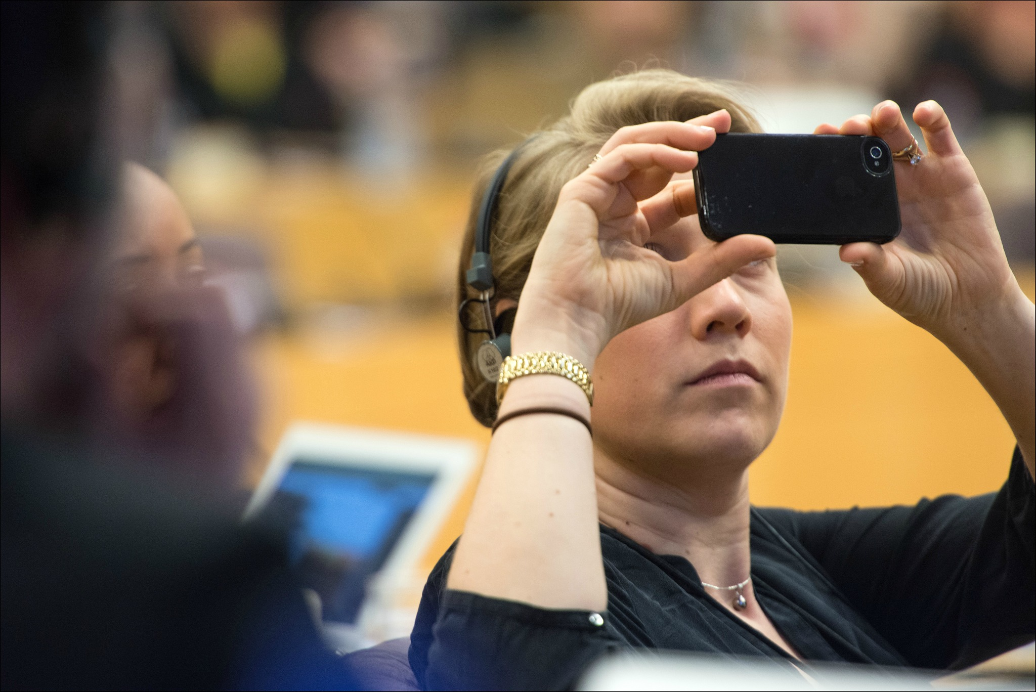 Selfie au Parlement européen [Parlement européen]