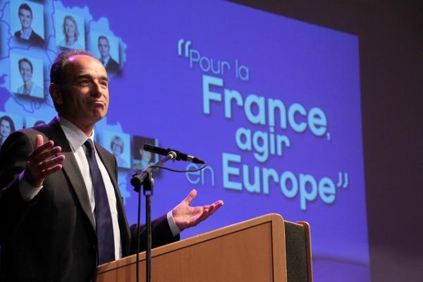 Jean-François Copé au meeting du 21 mai - ©UMP