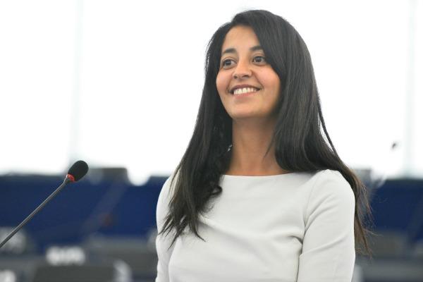 Karima Delli au Parlement européen