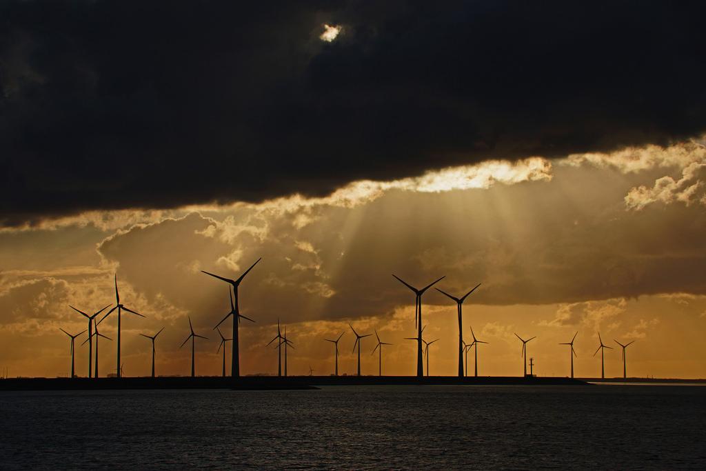 Windpark Westereems, Netherlands. 2014 [Lutz Koch/Flickr]