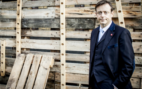 Bart De Wever, le leader du parti séparatiste flamand, la N-VA [Koen Hostyn/dewereldmorgen - Creative Commons]