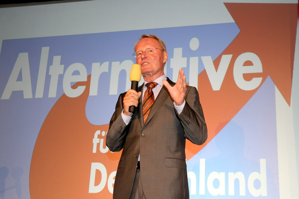Hans-Olaf Henkel, lead MEP of Alternative für Deutschland [blu-news.org/Flickr]