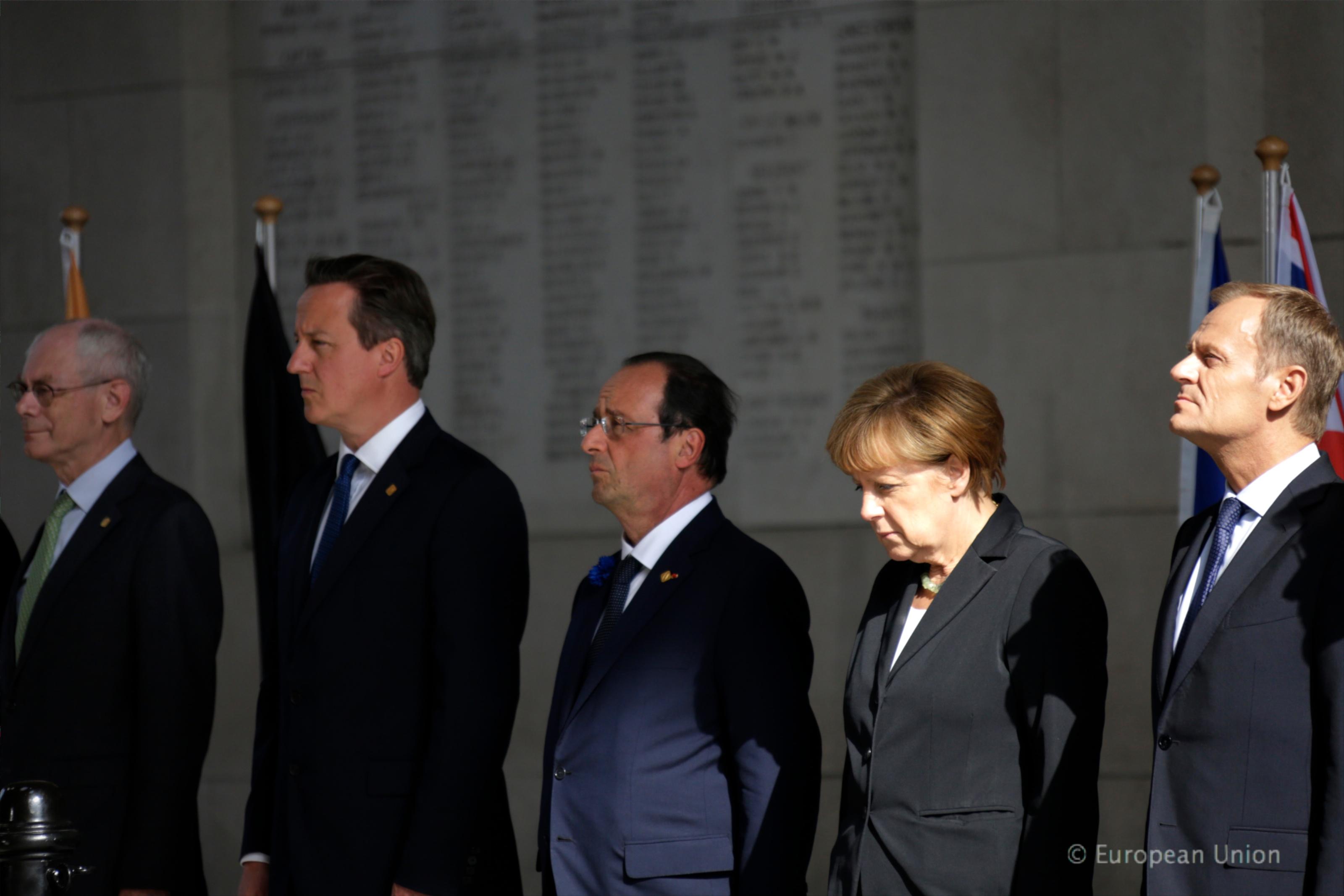 Sommet européen - Ypres - 26 juin 2014