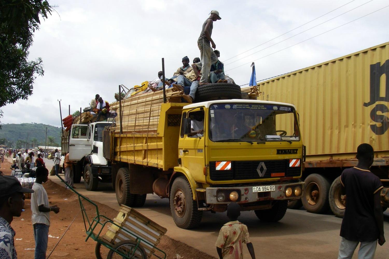 Camion à Bangui - RCA - © OCHA