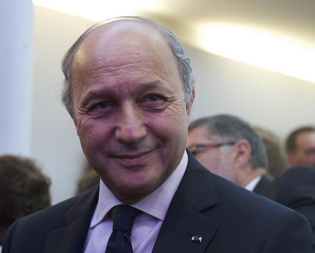 Laurent Fabius, ministre français des Affaires étrangères [Mathieu Delmestre/ Flickr]
