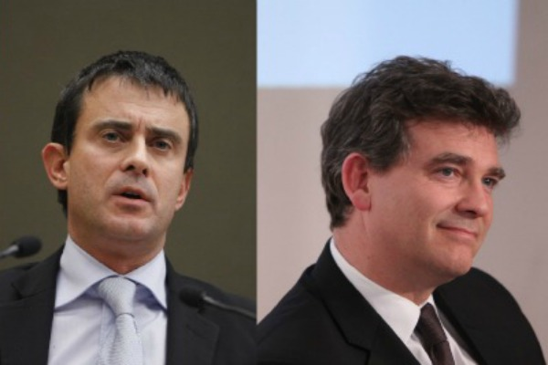 Manuel Valls et Arnaud Montebourg - credit: [philippe Grandgeaud/G8UK]/Flickr