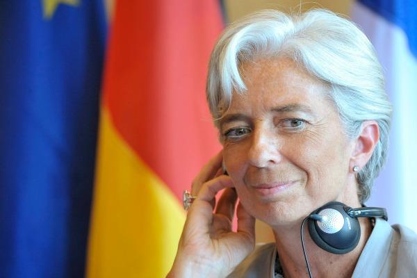 Christine Lagarde en 2010, lors d'une rencontre  avec Wolfgang SCHÄUBLE -  © Dominique-Henri SIMON
