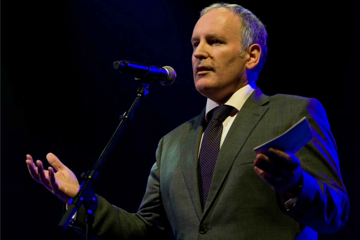 Frans Timmermans at the opening night of the Crossing Border Festival 2008 [Flick/Maurice]