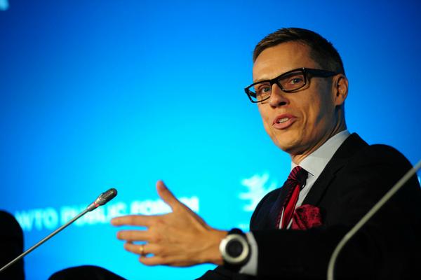 Alexander Stubb au Public Forum 2013 de l'OMC - © OMC