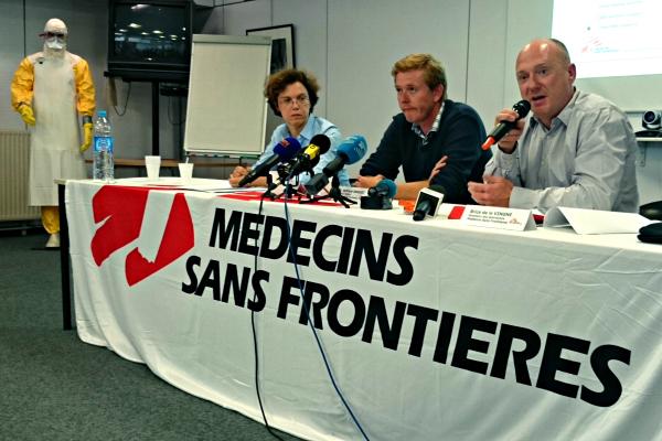 Brice De Le Vingne, directeur des opérations pour Médecins Sans Frontières - ©MSF.