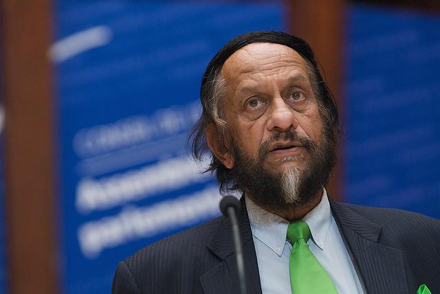 Rajendra Kumar Pachauri, Président du GIEC au Conseil de l'Europe en 2009 © Council of Europe/Jacques Denier
