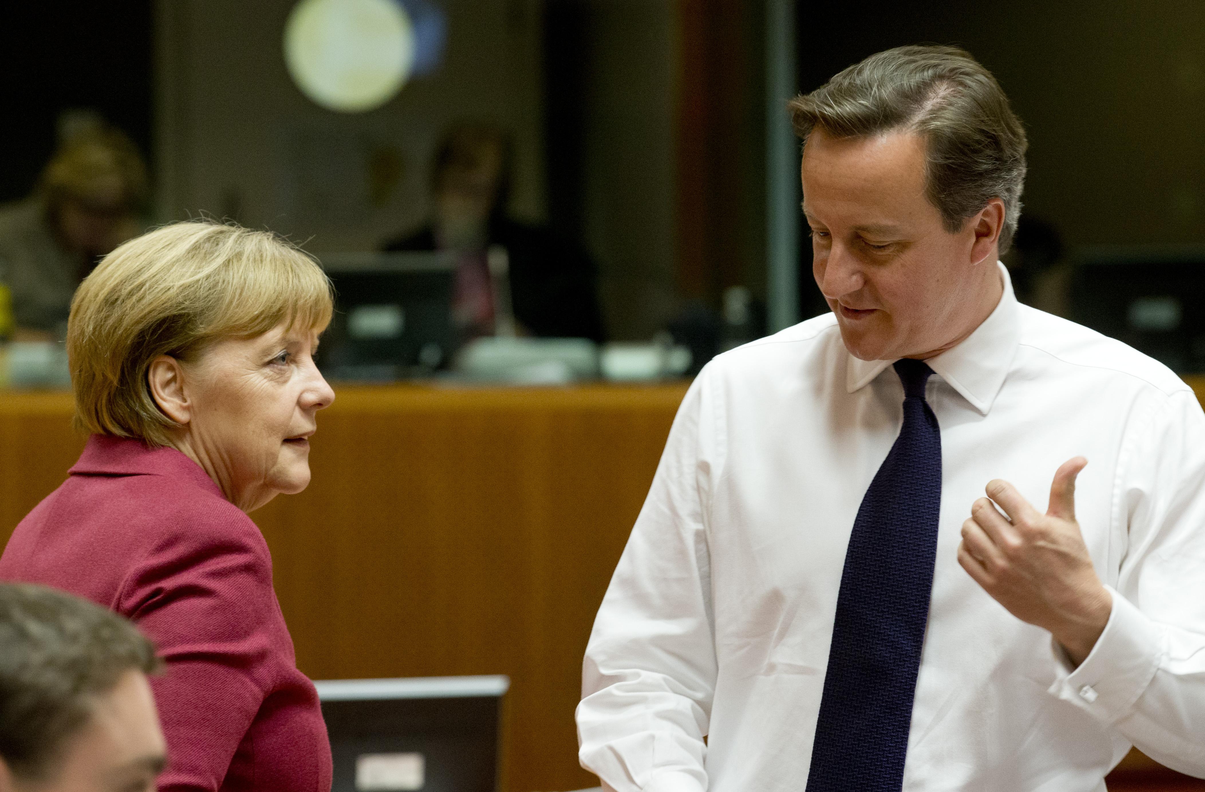 Angela Merkel, Chancelière fédérale allemande avec David Cameron, Premier ministre du Royaume-Uni © Le Conseil de l'Union européenne