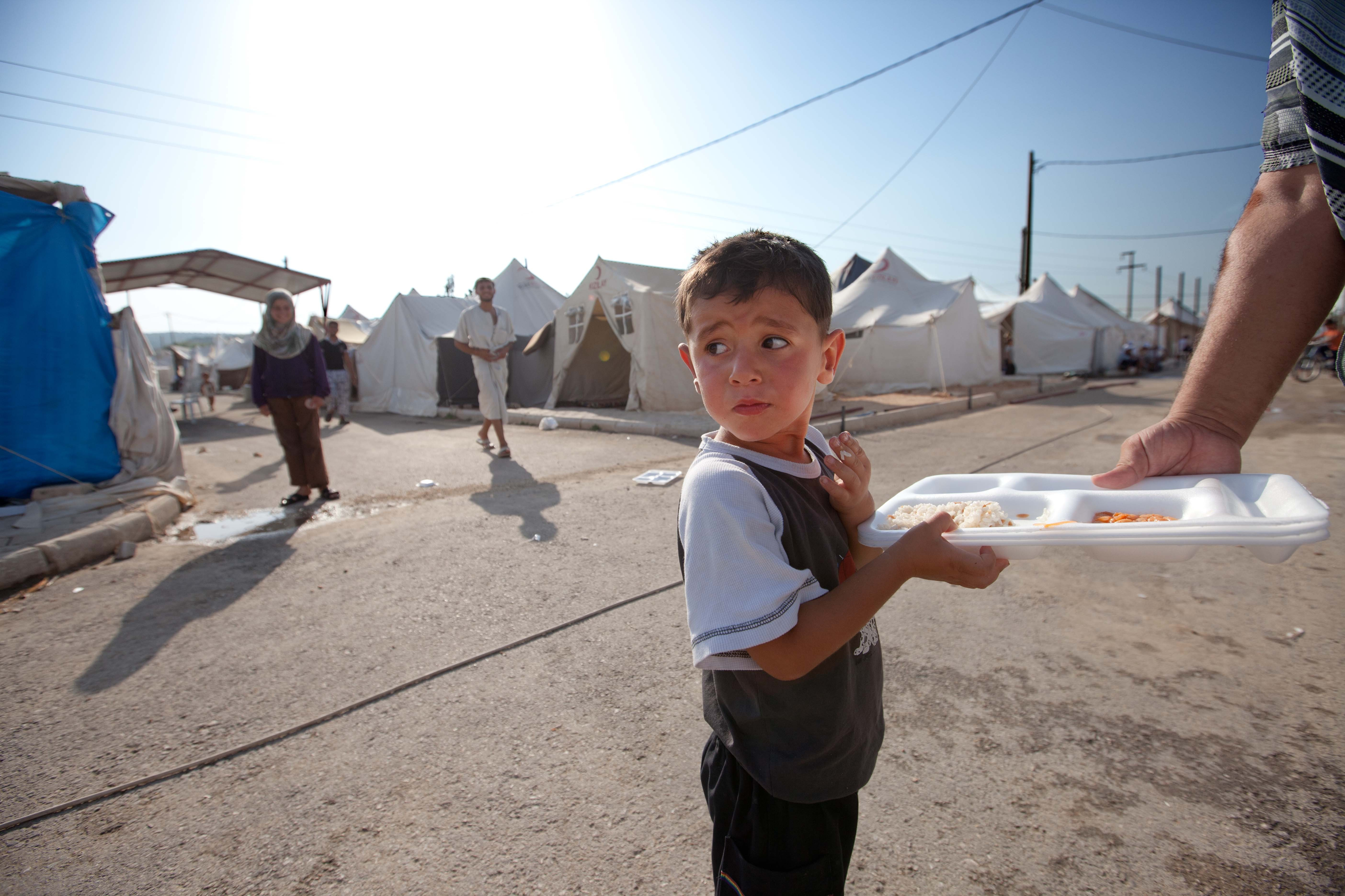 Réfugié syrien.