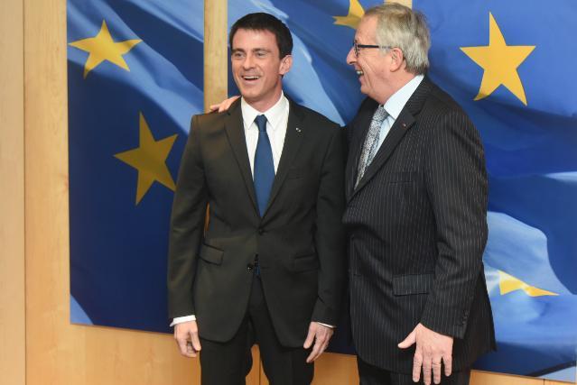 Manuel Valls s'est rendu à Bruxelles pour présenter les réformes française au collège des commissaires
