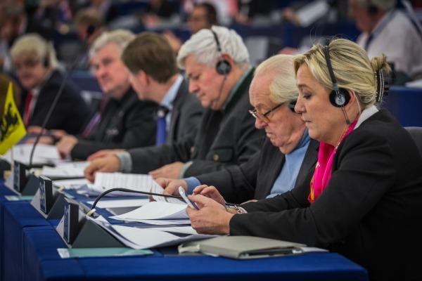 23 eurodéputés du Front national sont entrés au Parlement européen. Ils étaient seulement 3 entre 2009 et 2014