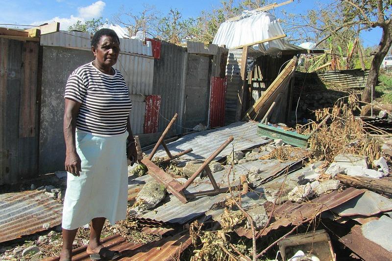 Port-Vila, la capital de Vanuatu a été ravagée par le cyclone Pam dans la nuit du 13 au 14 mars