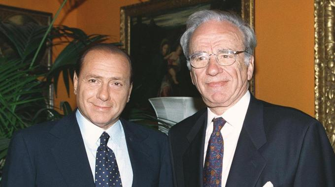 Silvio Berlusconi & Rupert Murdoch partner on new transatlantic media