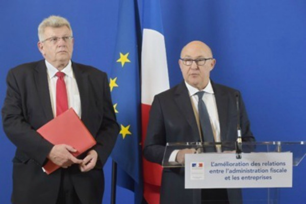 Christian Eckert, secrétaire d'Etat au budget, avec Michel Sapin, ministre des Finances © Ministère des Finances
