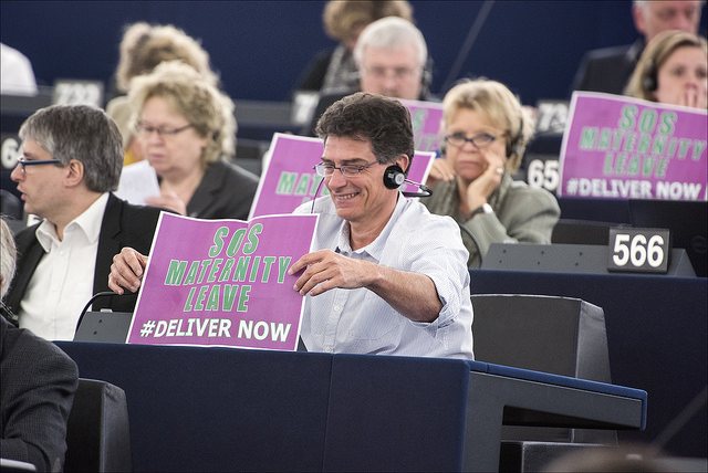 MEPs pushed to save maternity leave earlier this year