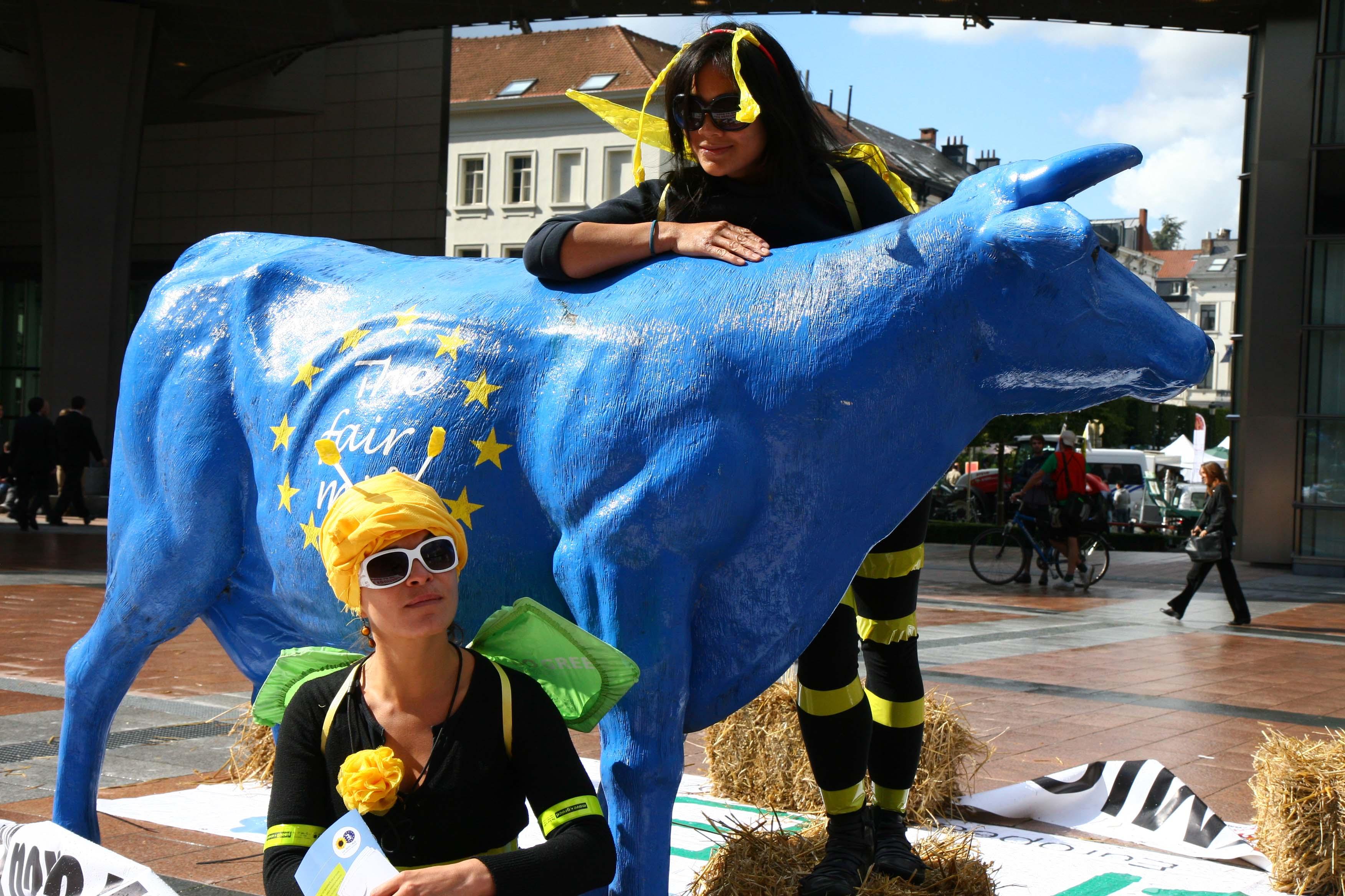 En 2012 à Bruxelles, la Good Food March revendiquait déjà une réforme de la PAC
