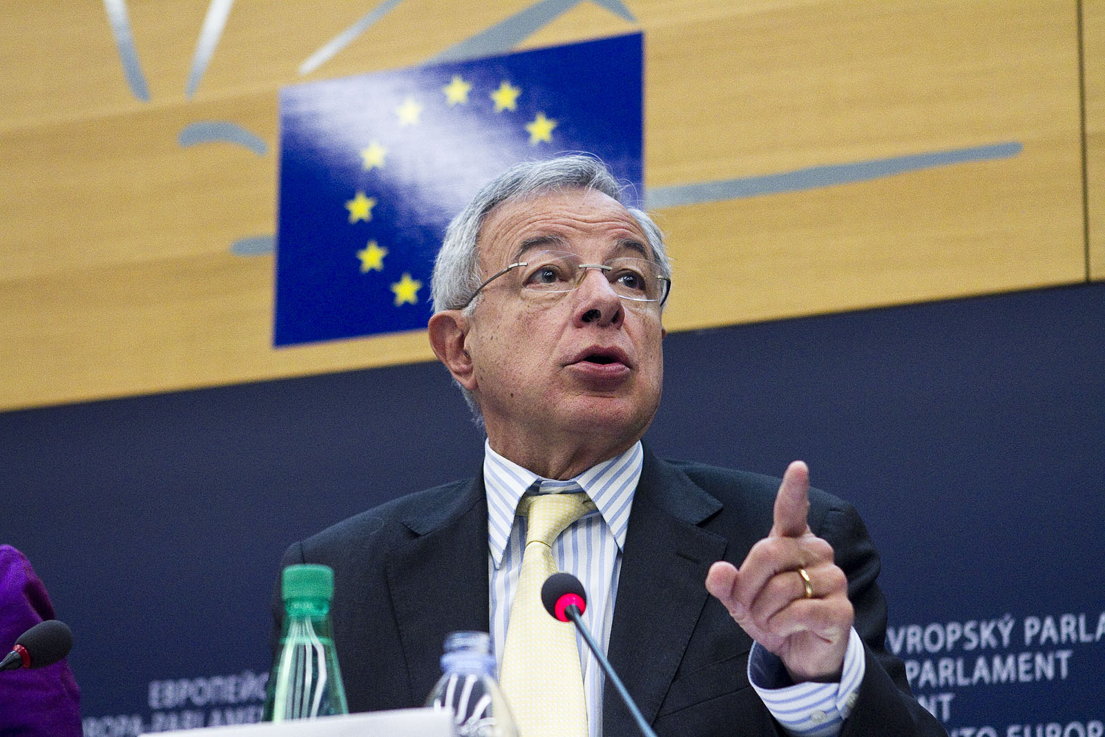Alain Lamassoure est le président de la  délégation française du PPE au Parlement européen