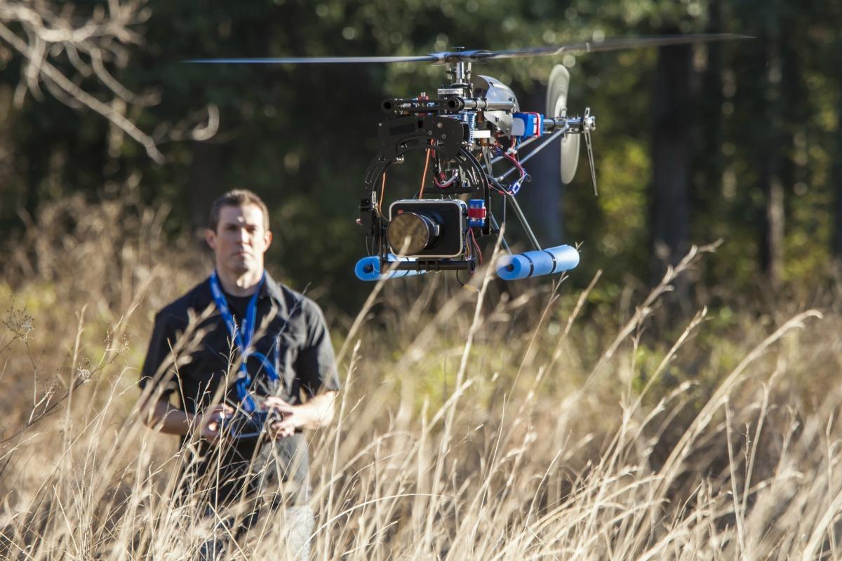 UAV helicopter