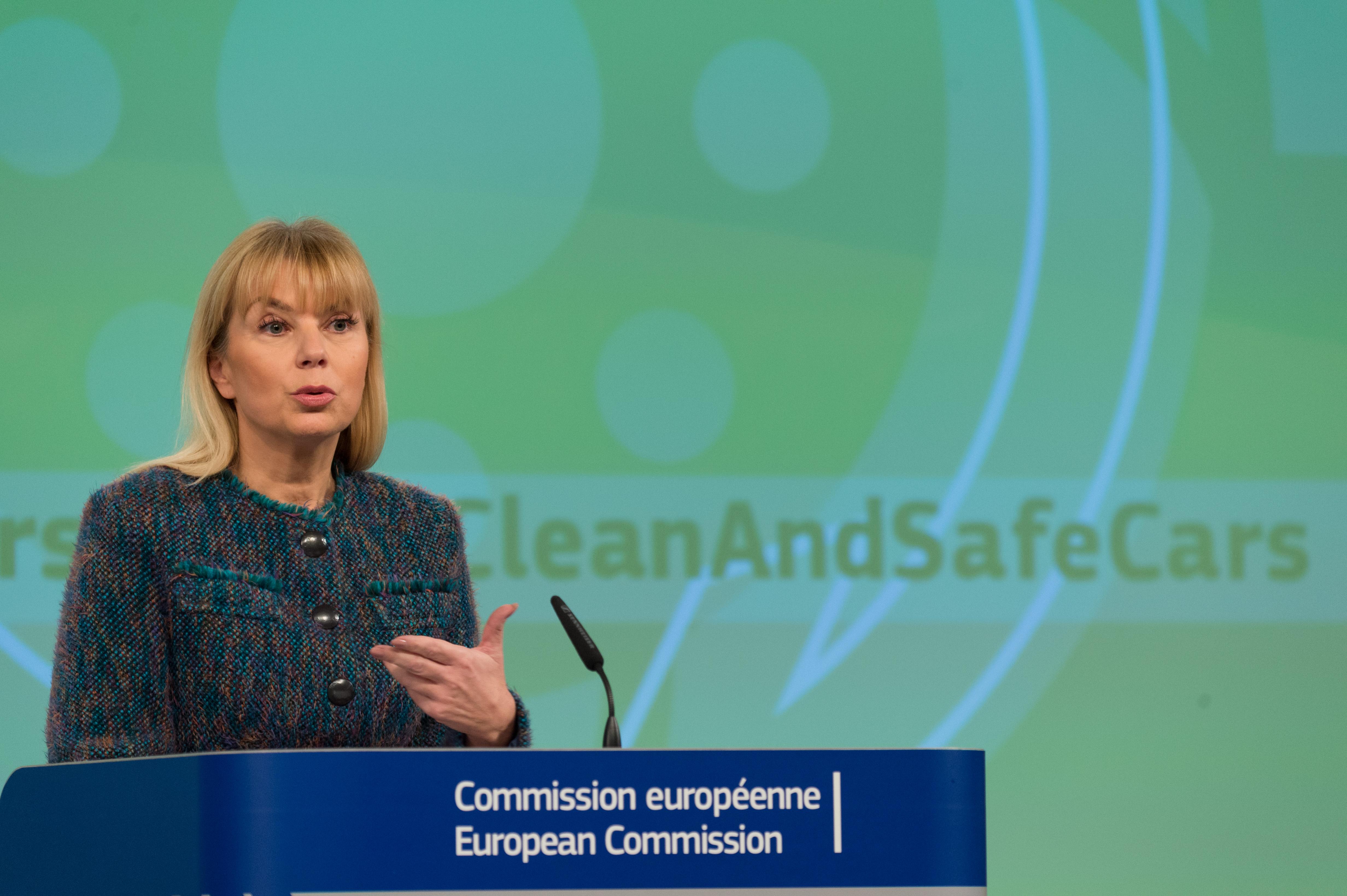 EU Internal Market Commissioner Elzbieta Bienkowska