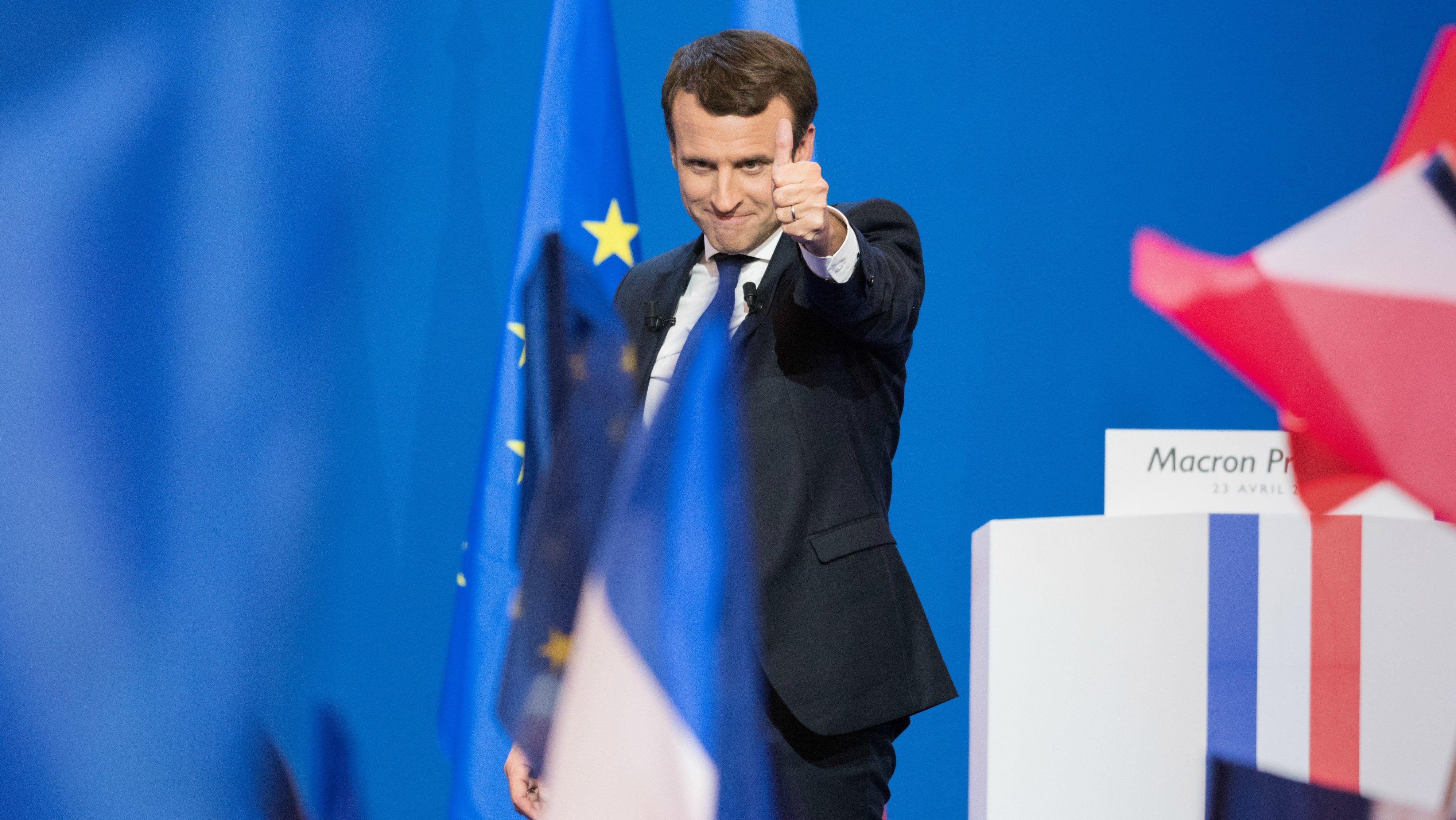 Macron veut une ttf europ enne d di e la solidarit internationale - Pacte energie solidarite 2017 ...