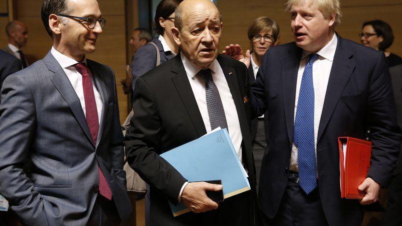 Jean-Yves Le Drian s'exprime sur la situation en Algérie