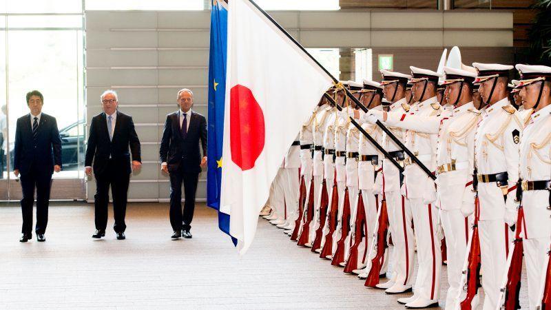 L'Europe et le Japon signent le plus gros accord de libre-échange au monde