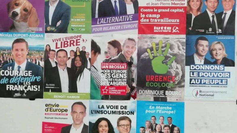 Le Rassemblement national et La République en marche toujours en tête — Européennes