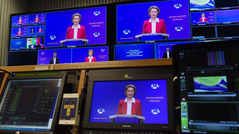 Coronavirus : 1 800 milliards d'euros, le prix de la relance en Europe