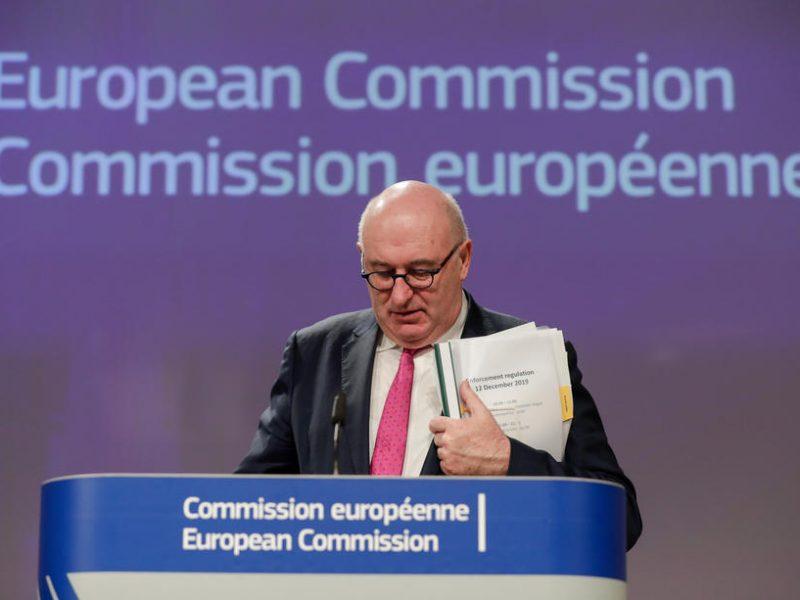 UE: l'Irlande perd le portefeuille du Commerce, confié au Letton Dombrovskis