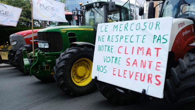 Accord UE-Mercosur : la France ne lèvera son veto que si ses demandes sont satisfaites