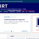 Le gouvernement italien renforce les mesures de cybersécurité