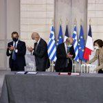Le ministère des Armées confirme que les zones économiques exclusives ne font pas partie de l'accord franco-grec
